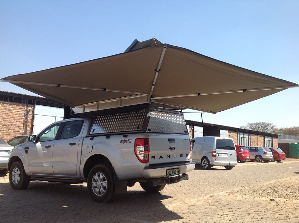 Photo Gallery Maxi Shade 270 Awning Custom Leisure Tech